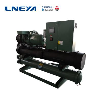 Characteristics of the evaporator of LNEYA screw chiller