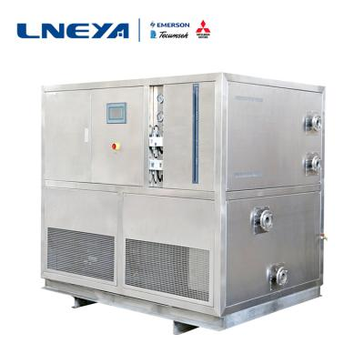 Efficient operation of high and low temperature integrated machine