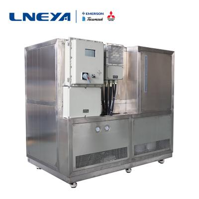 Description of high and low temperature circulation tank refrigeration process