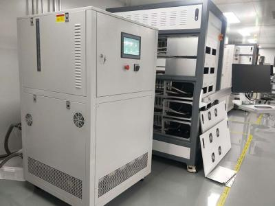 Temperature control equipment used in semiconductor chip burn-in test