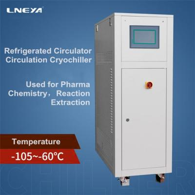 What are the influences on the refrigeration factors of the enclosed explosion-proof chiller?